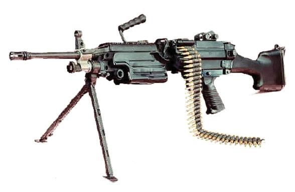 М249 - Пулеметы - Пулеметы - Каталог статей - Гатлинг